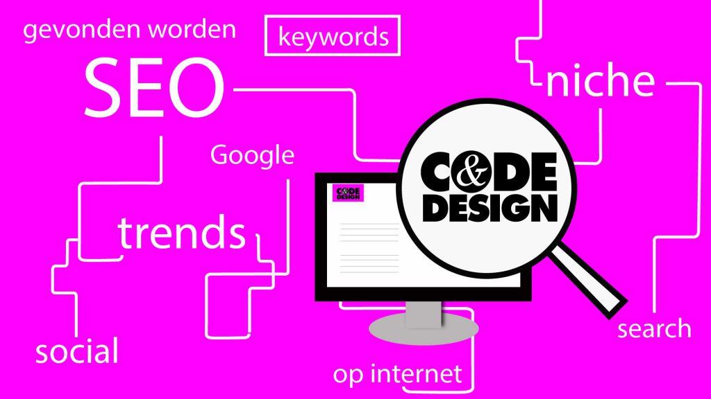 SEO gevonden worden op internet - Code en Design